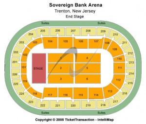 Sun National Bank Center Seating Chart