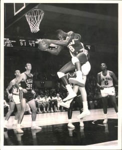 Walter Bellamy of the New York Knicks