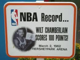 Wilt Chamberlain at Hershey